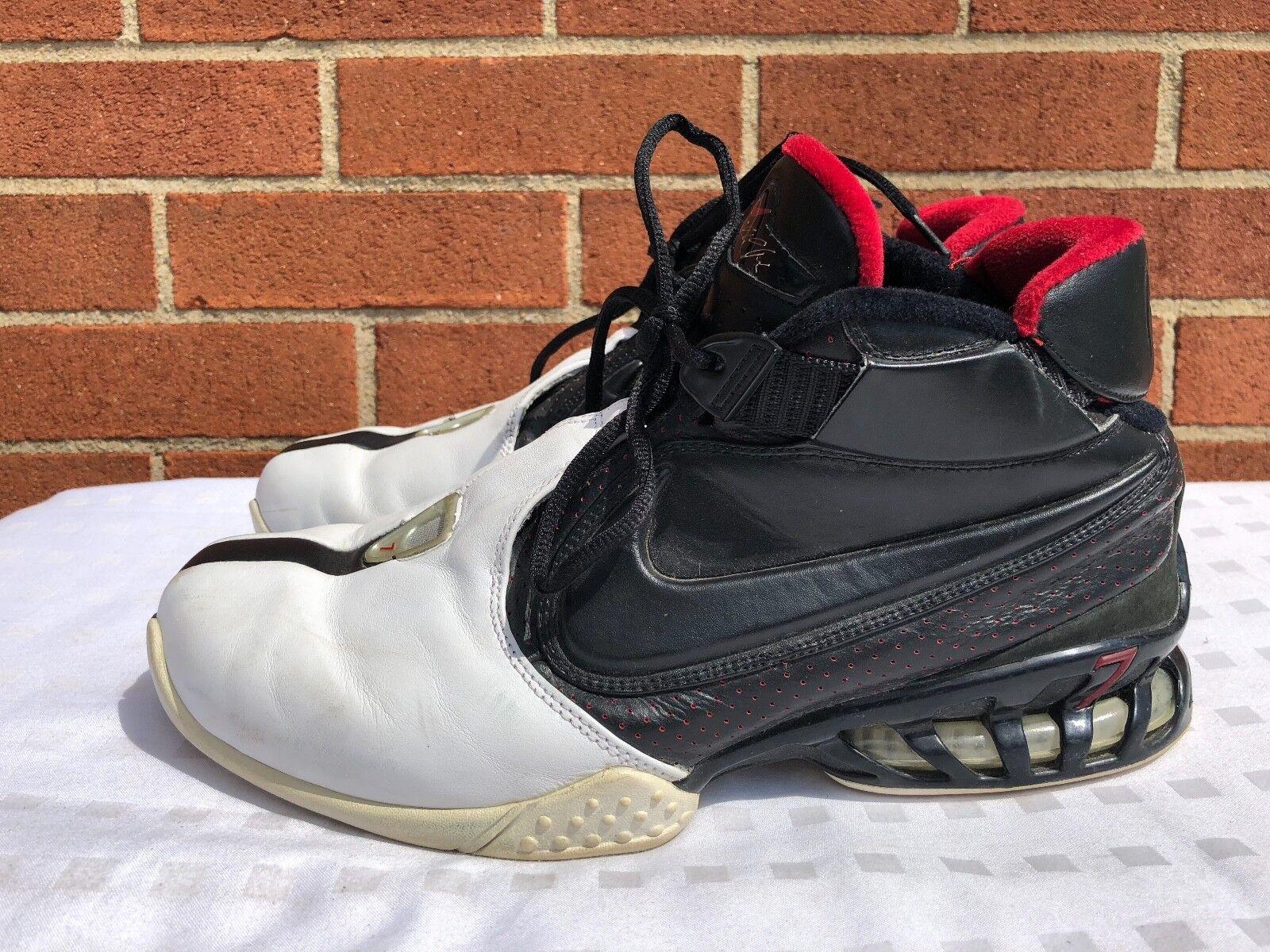 Nike Zoom White Vick 2 II OG Size 10.5 Black White Zoom Varsity Red 309332-002 6f697d