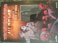 THE WALKING DEAD ALL OUT WAR MINIATURES GAME BOOSTER BRAND NEW ~ JULIE /& CHRIS