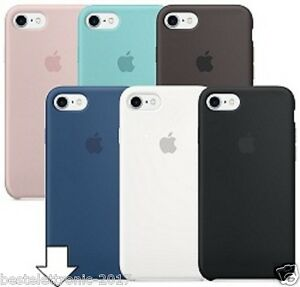 custodia silicone apple iphone 7