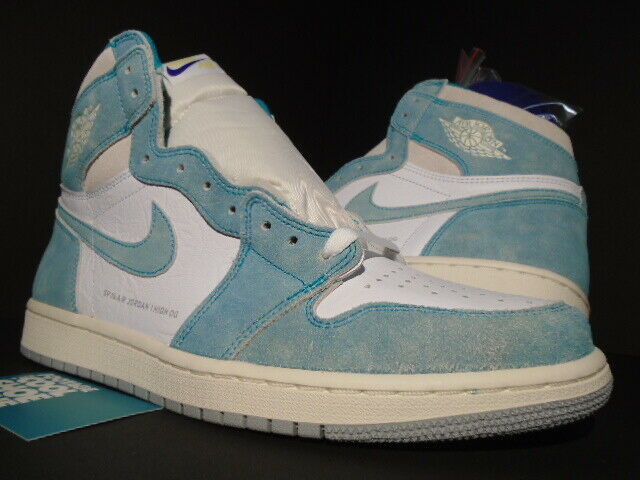 NIKE AIR JORDAN I RETRO 1 HIGH OG TURBO GREEN SAIL WHITE BRED TOE 555088-311 11