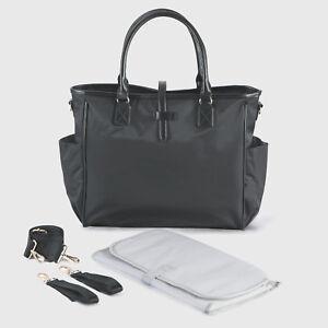 ca79c019b1bb7 Black Changing Bag Black Pram Bag Large Diaper Bags by ALLIS - Kelly ...