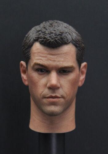 Custom 1//6 Matt Damon head sculpt The Martian for Hot toys narrow Body