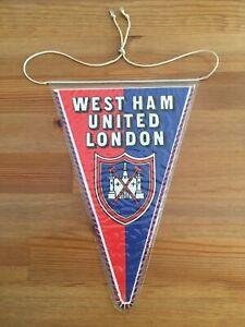 West Ham United Fanion/PENNANT ⚒ 🇬 🇧