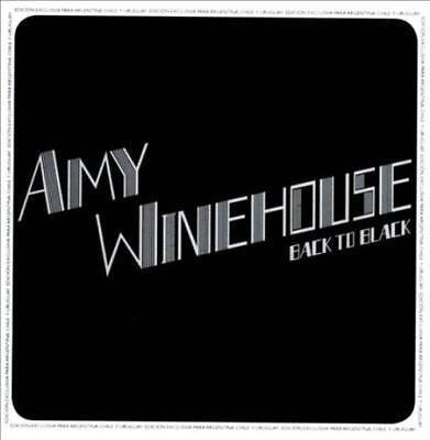 Porte clé Keychain Ø45mm Amy Winehouse Back to Black