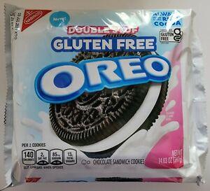 NEW Nabisco Oreo Double Stuf Gluten Free Chocolate Sandwich Cookies FREE SHIP