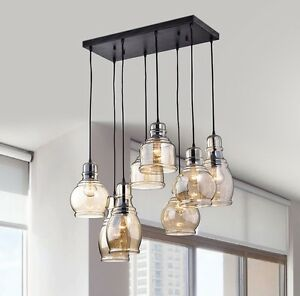 Details About Cluster Pendant Light Fixtures Pendant Lighting For Dining  Room Entryway Lights