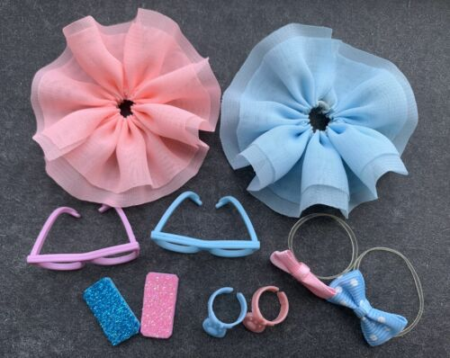 10 Lot Accessories For LPS Glasses Skirt Bowknot Mobile phone Who Love LPS Rare