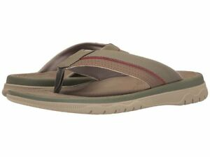 d328f984dc5d1 Image is loading Clarks-Mens-Cloudsteppers-Balta-Sun -Lightweight-Olive-Thong-