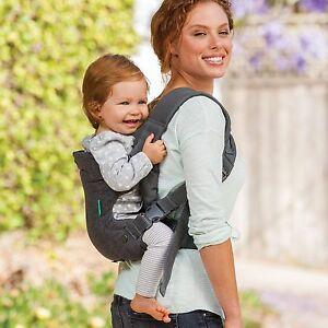 Image is loading Infantino-Practical-Flip-Baby-Carrier-Toddler -Rider-Backpack-
