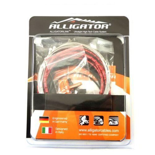 6 Color Alligator I-Link 5mm Road Bike Brake cable set 31 strand Superior Shine
