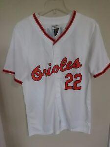 963d2df95f1 NWT SGA MLB Baltimore Orioles Jim Palmer   22 Jersey Men Medium with ...