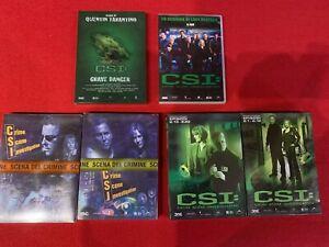 DVD-CSI-Prima-e-seconda-serie-complete-grave-danger-e-lo-scrigno-di-lady-heath