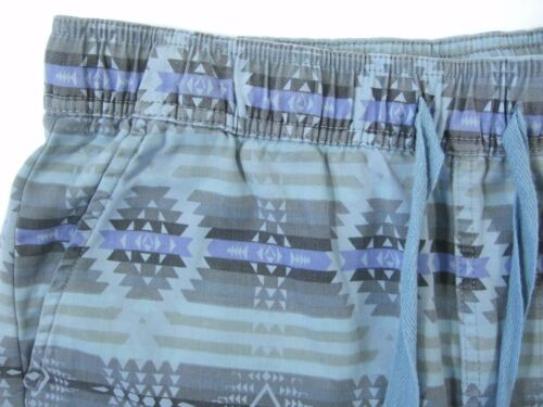 CHIP FOSTER SOUTHWESTERN PRINT LIGHT BLUE 31 TAPERED TROUSER CASUAL PANTS NWT