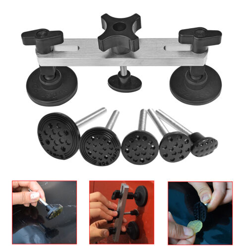 Paintless Dent Repair Removal PDR Tools Auto Body Kit Puller Bridge Glue Gun Set