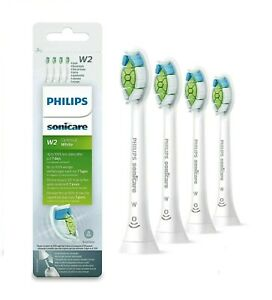 Philips-Sonicare-w2-hx6064-optimale-weiss-elektrische-Zahnbuerste-Heads-4-Pack-UK