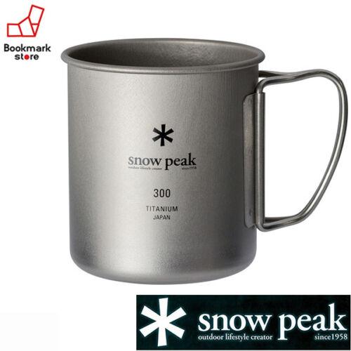 New Snow peak Titanium Single Mug 300 M-Size from Japan Free Ship!!