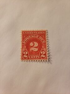 United States Postage Due 2 Cents Stamp MNH 2c cent