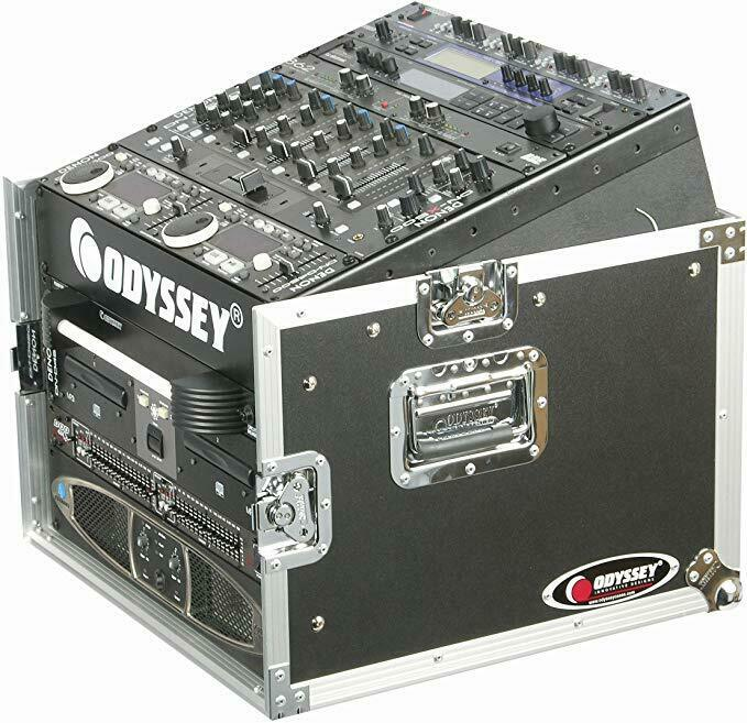 Odyssey FZ-1006 - 10U Top Slanted 6U Grünical Pro Combo Rack
