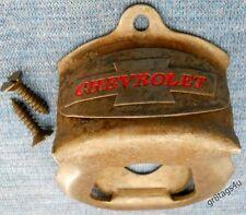 Chevrolet Trucks Sign Bottle Opener w// Grille /& Bowtie Metal Wall Mount