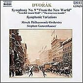 Dvorak: Symphony No. 9 & Symphonic Variations, , Very Good CD