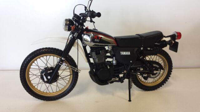 Yamaha XT500.   Minichamps 1/12 Diecast