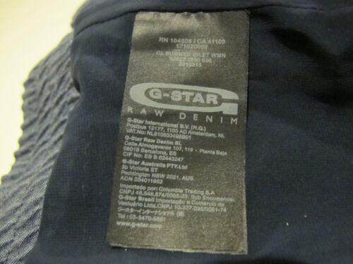 M soie Gilet Line G soie 100 marine Correct en Gilet Bnwt star bleu en Raw Sz authentique 230 Iqt6P