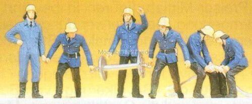 Figuren H0 Preiser 14204 Feuerwehrmänner OVP