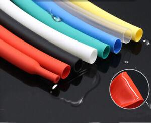 Φ4mm~32mm Clear 4:1 Heat Shrink Heatshrink Shrinkable Tube Tubing Wire Sleeve