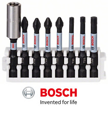 BOSCH IMPACT CONTROL 8 PIECE PH2/PZ2/T20/T25/T30 SCREWDRIVER BIT SET
