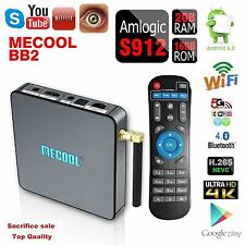 BB2 TV Box OTA Amlogic S912 Octa Core 2/16G KODI17.0 WIFI Bluetooth for Android