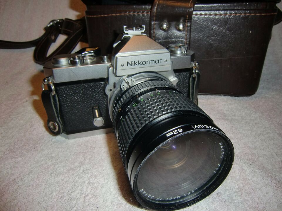 Nikon, nikkormat, spejlrefleks