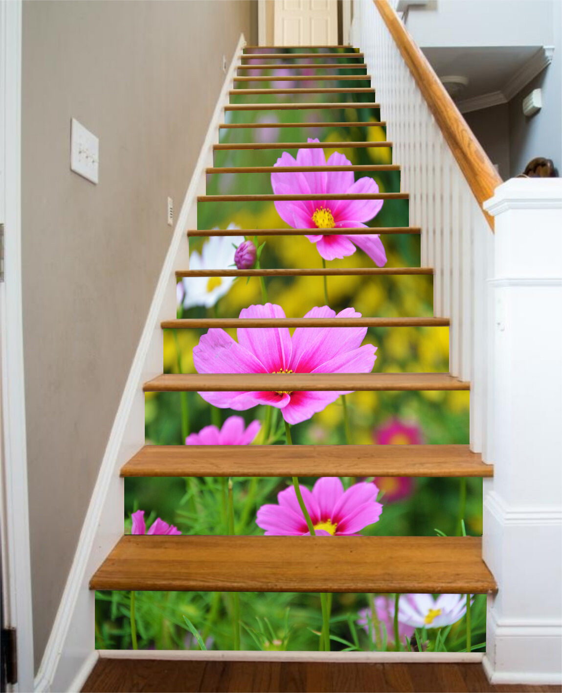 3D Grace Flowers 91 Stair Risers Decoration Photo Mural Vinyl Decal WandPapier UK