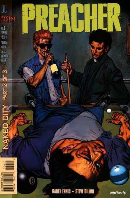 PREACHER #6 Vertigo DC AMC TV 1st Print Near Mint- to NM 1995