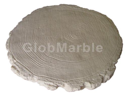 Concrete Mold Log End WS 5901//2 Concrete or Plaster Garden Stepping Stone Paver
