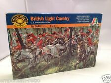 ITALERI FIGURES BRITISH LIGHT CAVALRY US INDEPENDENCE WAR 1/72 SEALED