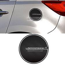 Fuel Tank Door Cap Cover Carbon Decal Sticker for KIA 2011-2015 2016 Sportage R