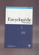 encyclopedie thematique 1 ( culture )universalis -