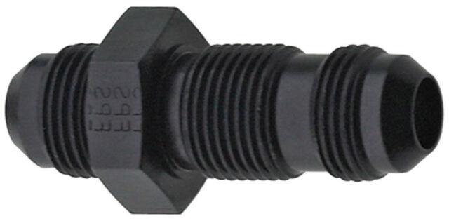 Fragola Performance Systems 483206-BL #6 Straight Bulkhead Black