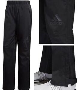 Adidas-Golf-Climaproof-Heathered-Lined-Waterproof-Golf-Trousers-XXL-W40-W42
