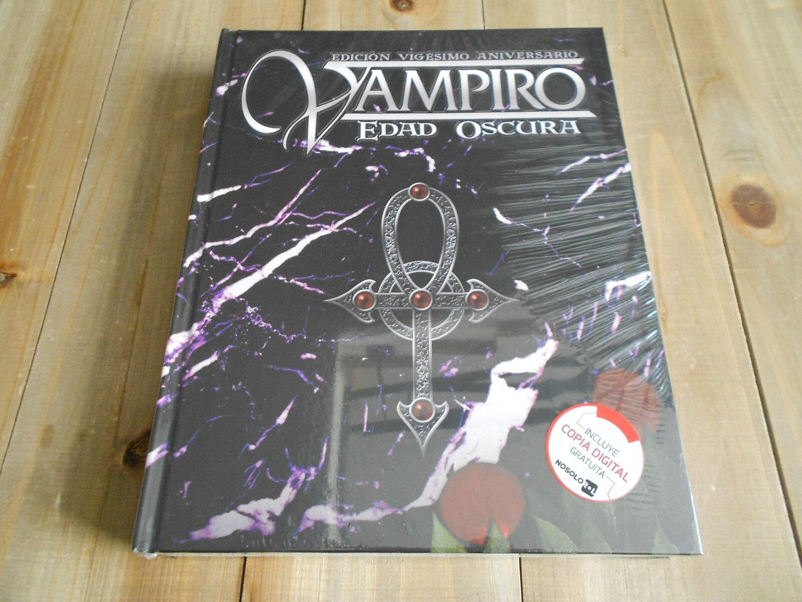 Vampiro EDAD OSCURA - Básico - juego de rol - Nosolgoldl - 20 Aniversario