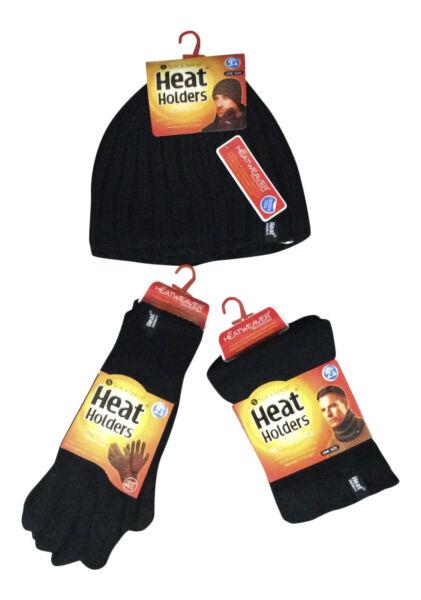 Abundante Calor Titulares-para Hombre Térmica Invierno Polar Cable Knit Hat, Calentador Del Cuello Y Guantes-ver Sé Astuto En Asuntos De Dinero
