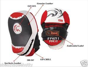 Kango Gladiotor Focus Pads,Hook & Jab Mitts,MMA Boxing Kick Gloves 047 Pair
