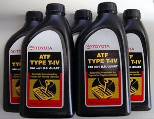 5 Quarts Toyota Scion Automatic Transmission Fluid Type 4 Atf Oem New Ebay