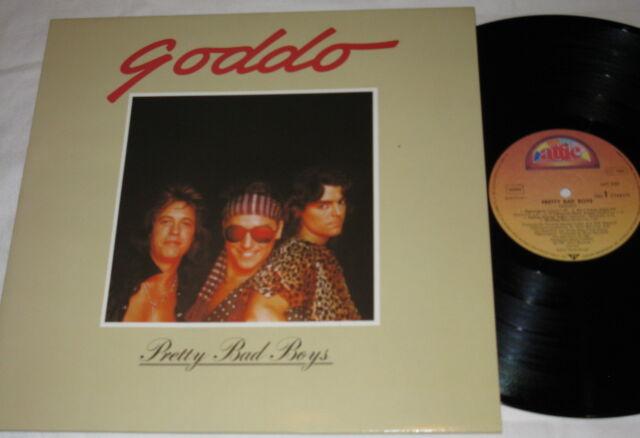 GODDO pretty bad boys LP Attic Rec. 1981 Canadian HARD ROCK