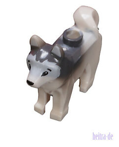 LEGO-Husky-weiss-Schlittenhund-Hund-White-Dog-Husky-16606pb001-NEUWARE