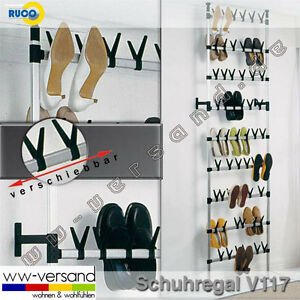 ruco v 117 teleskop schuhregal schuhschrank gro. Black Bedroom Furniture Sets. Home Design Ideas