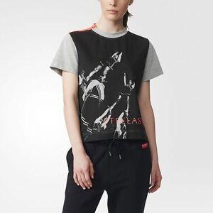 Details about Adidas STELLASPORT by Stella McCartney Womens Active Wear T Shirt Tank Top