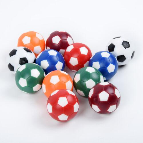 12pcs//Set 32mm Plastic Foosball Mini Table Football Soccer Ball Indoor Game Tool