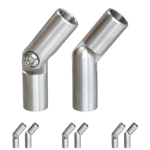 Stab stabverbinder en acier inoxydable avec articulation v2a connecteur escaliers balcon balustrade va