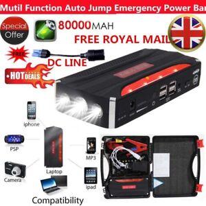 80000mah 4usb Car Jump Starter Battery Charger Pack Booster Power